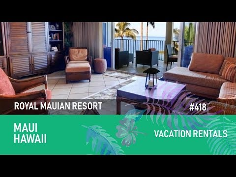 Oceanfront Maui Vacation Rentals in Kihei