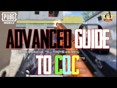 ADVANCED GUIDE TO CQC PUBG MOBILE HOW TO WIN GUNFIGHTS