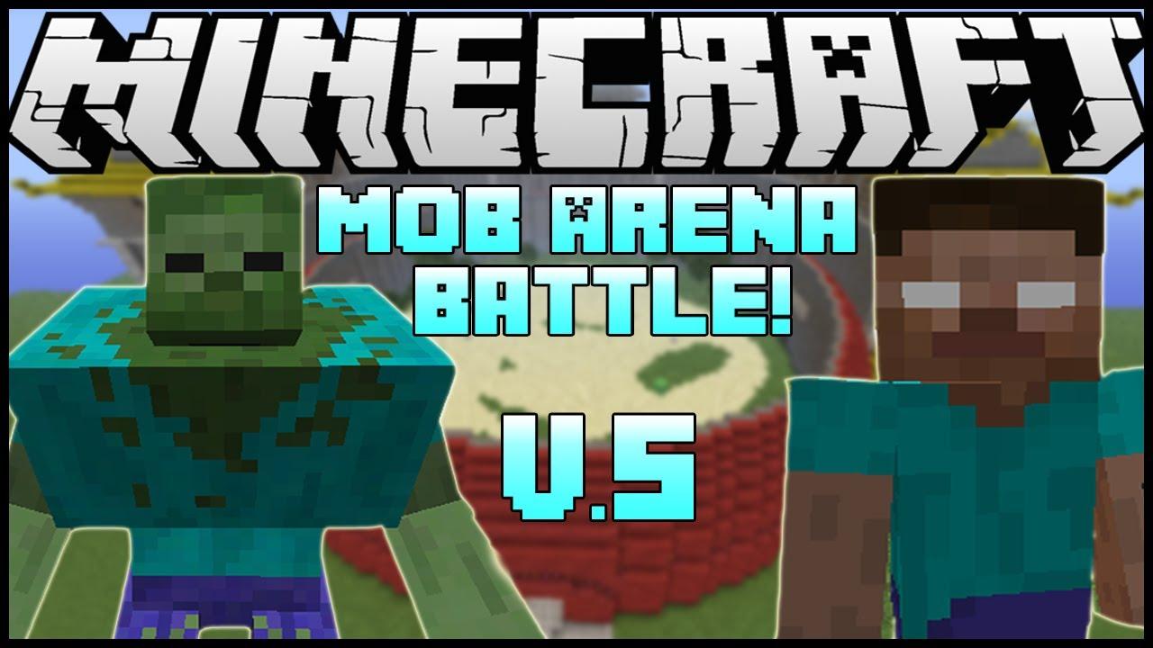 """MUTANT ZOMBIE VS. EVIL HEROBRINE!"" - Minecraft: Mob ..."