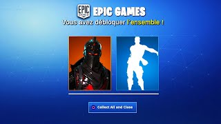 """CHEVALIER NOIR"" and ""FLOSS"" FREE FORTNITE -PS4/XBOX ONE/PC/SWITCH"