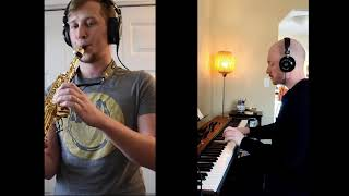 Berceuse, Op. 16 by Gabriel Faure – Kyle Mechmet, Soprano Saxophone and Casey Rafn, Piano