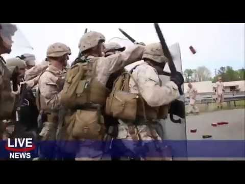 Marines Prep for Riot Control in America! Jade Helm 15?
