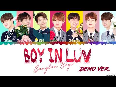 [DEMO VER] BTS (방탄소년단) – 'Boy In Luv' (상남자) Lyrics [Color Coded Han_Rom_Eng] | Requested