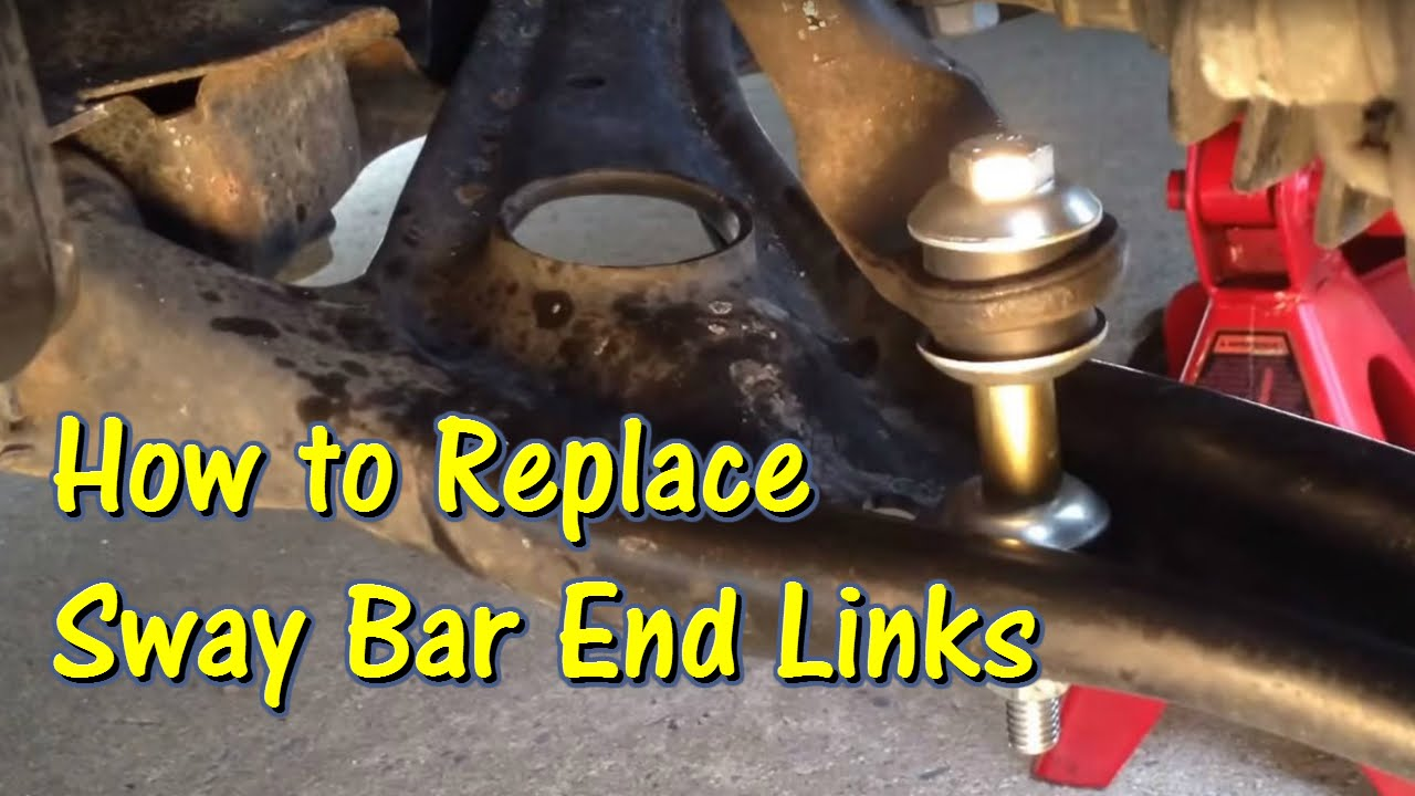 Sway bar stabilizer bar end link replacement 2006 scion xb gettinjunkdone youtube