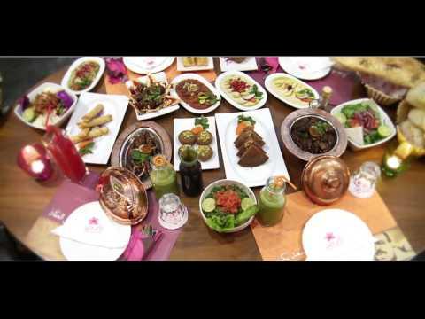 مطعم دار ورد .. مصر .. المطعم الحلبي الاصيل _ غناء روجيه خوري/MAWAHEB HD thumbnail