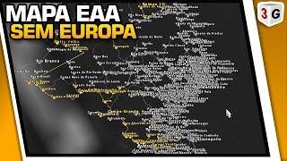 MAPA EAA SEM A EUROPA - EURO TRUCK SIMULATOR 2