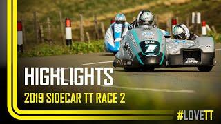 2019 Locate.im Sidecar TT Race 2 - Race Highlights | TT Races Official