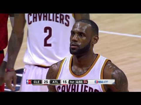 NBA Games of the Year - Cleveland Cavaliers at Atlanta Hawks from 04/09/2017
