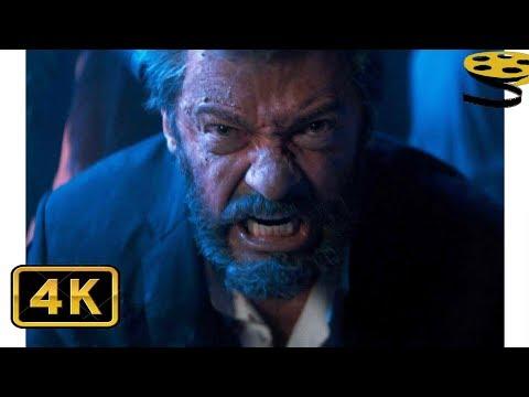 Логан против Бандитов. Вступительная Сцена | Логан (2017) | 4K ULTRA HD