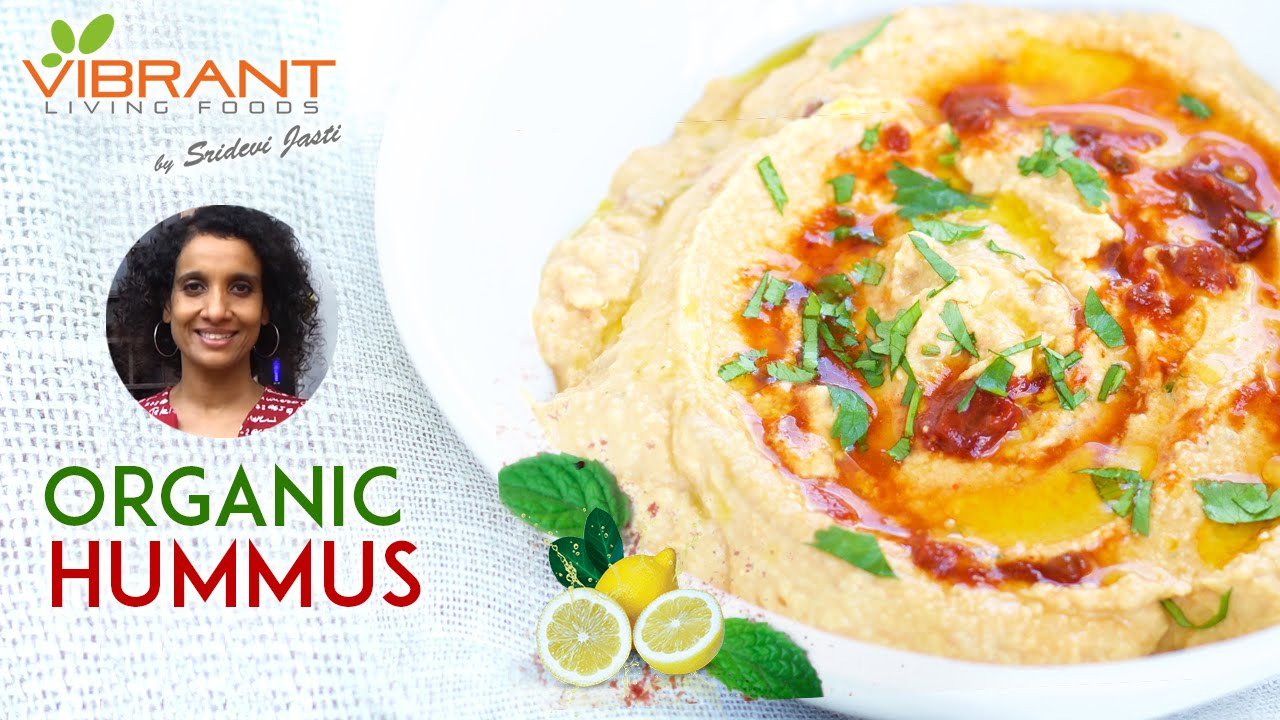 How to prepare organic hummus healthy food recipes vibrant how to prepare organic hummus healthy food recipes vibrant living youtube forumfinder Image collections