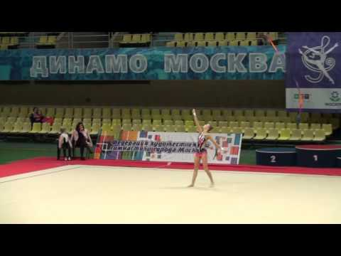 Ершова Ульяна, лента. КПМ 06.03.2016 по мастерам