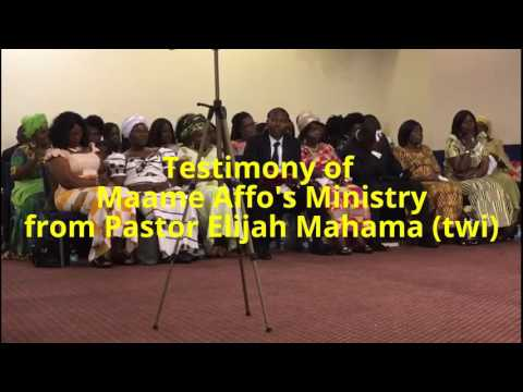 Testimonies - Maame Affo's retirement service