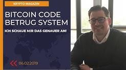 Bitcoin Code Betrug - Ich analysiere das System? Betrug!?