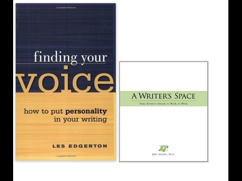 Rod Raglin reviews Finding Your Voice and A Writer's Space