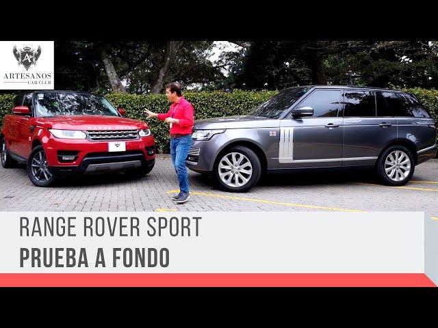 Prueba a fondo Range Rover Sport / Artesanos Car Club