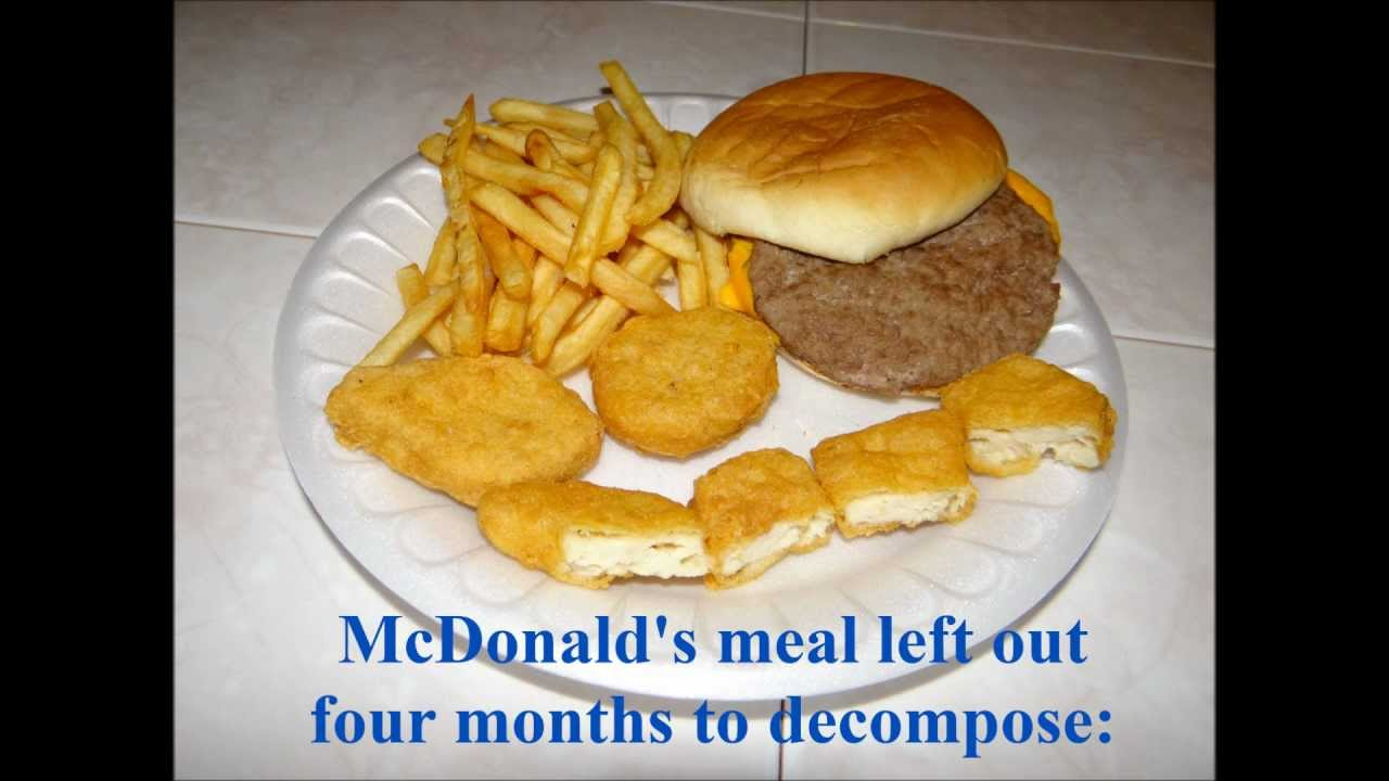 Mcdonald S Food After Four Months Youtube