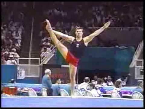 Alexei Nemov (RUS) FX 1996 ATL...