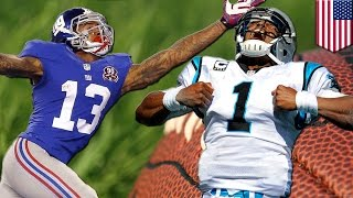 Panthers vs Giants: Cam Newton takes Carolina to face Odell Beckham Jr. and New York