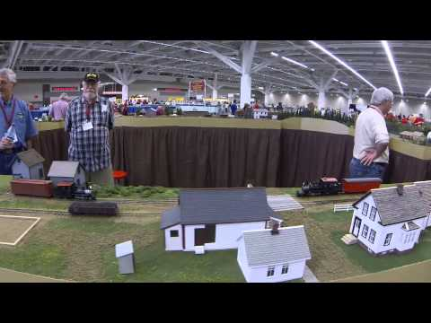 Cleveland 2014: THe Sn2 Crew, Maine Narrow Gauge, S Scale