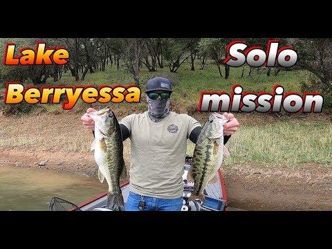 LAKE BERRYESSA CA, SOLO MISSION