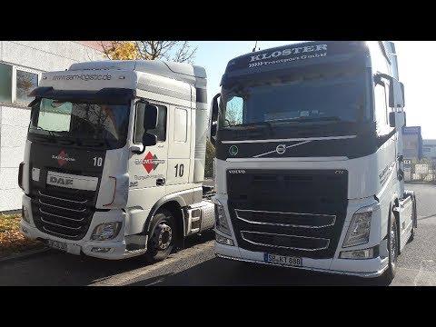 Что лучше Volvo или  DAF!? Oбзор!(Не профессиональный).