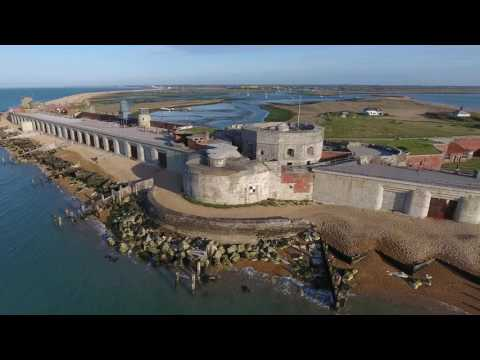 Hurst castle 4k