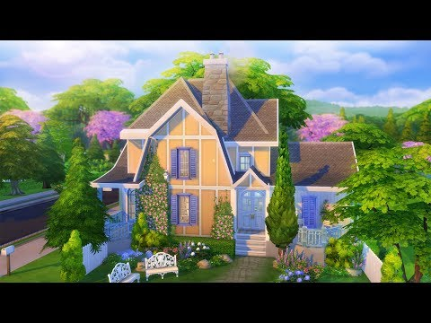 The Sims 4 l COTTAGE DREAM HOME SPEED BUILD