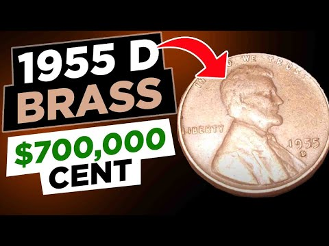 $700,000 00 Cent 1955 D | Brass Strike | 3 00-2 9 grams | Please Subscribe  for Updates