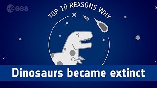 Top ten reasons why the dinosaurs became extinct