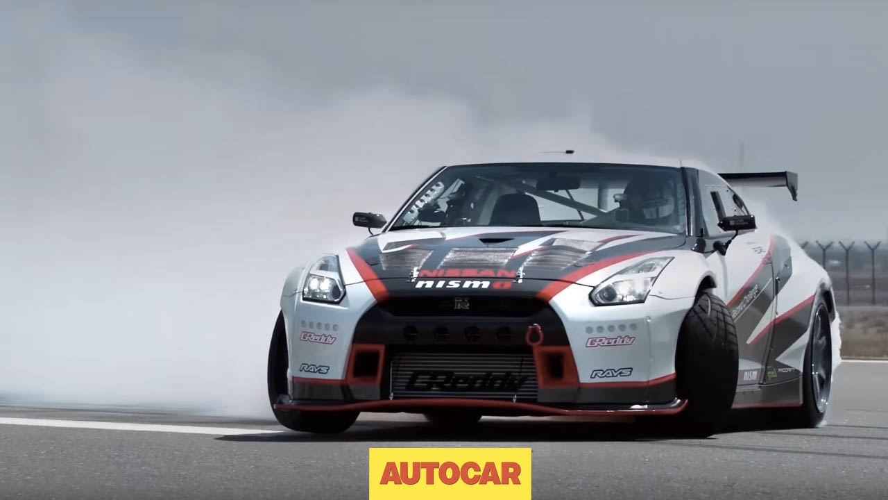 DRIFTED | The world's fastest drift car | 1400bhp, 190mph Nissan GT ...