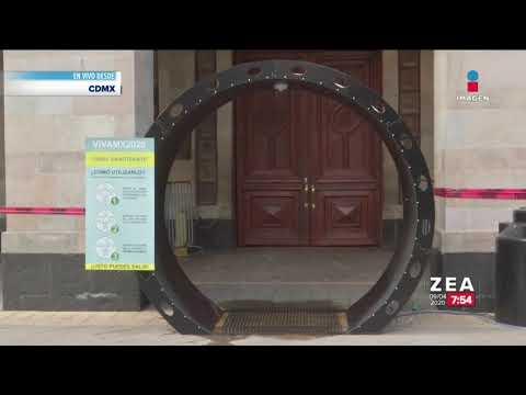 instalan-túneles-sanitizadores-en-edificios-públicos-|-noticias-con-francisco-zea