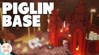 I Made A PIGLIN BASE! | Minecraft Nether Update 1.16