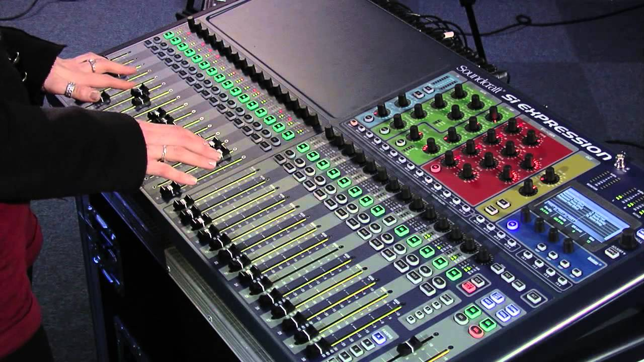 Soundcraft Si Expression Demonstration with Bryony October