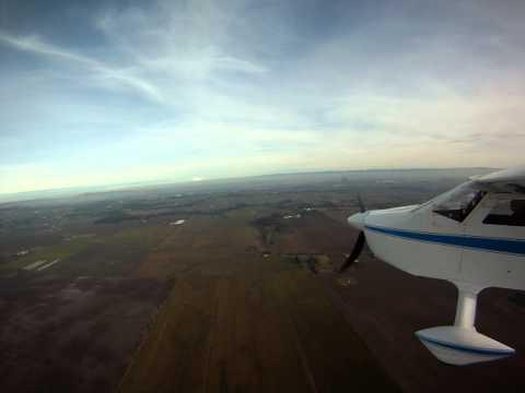 Tuft test BD-4 new wing fairing