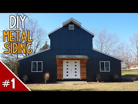 Installing Metal Siding on a House - Part 1 of 4