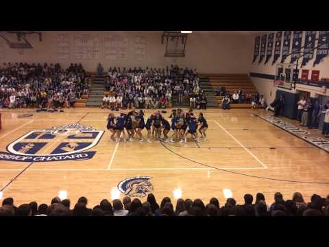 Bishop Chatard High School Cheerleaders