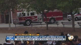 Chula Vista school rocked by alleged attempted suicide