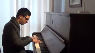 (HD) Amaro Porano Jaha Chay - Tagore piano solo
