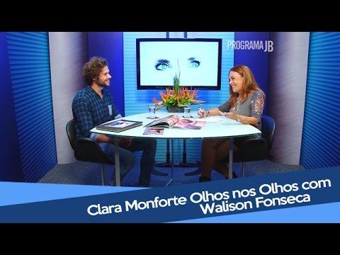 Clara Monforte Olhos nos Olhos com Walison Fonseca