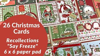 26 Christmas Cards | Michaels Recollections