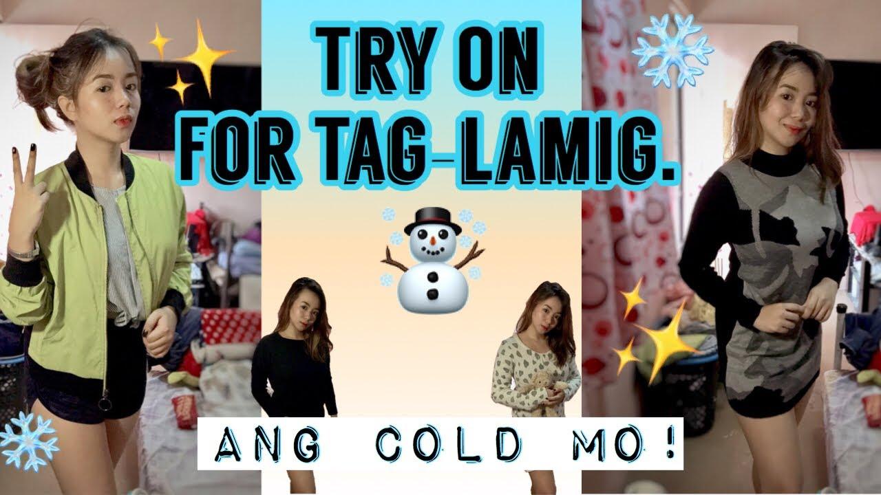 [VIDEO] - 7 Outfit sa Tag-Lamig! (Ukay-Ukay Lang!?) | Angela | Tagalog (Philippines) 7