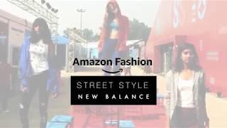 Amazon Fashion / New Balance  - Street Style   AIFWSS18