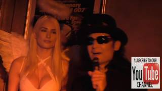 Corey Feldman and Courtney Mitchell at the Corey Feldman Album Release Party For Angelic 2 The Core