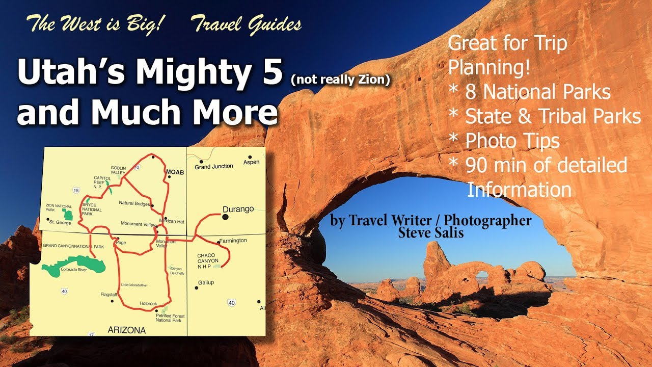 Tour Utah National Parks: The Mighty 5 & beyond Travel Guide