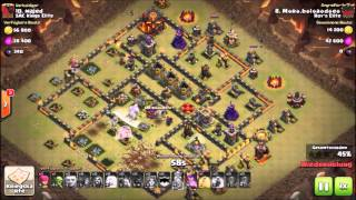 Clash of Clans Clankrieg Mr.Blade #19 [Rh 9 vs Rh 9.5]