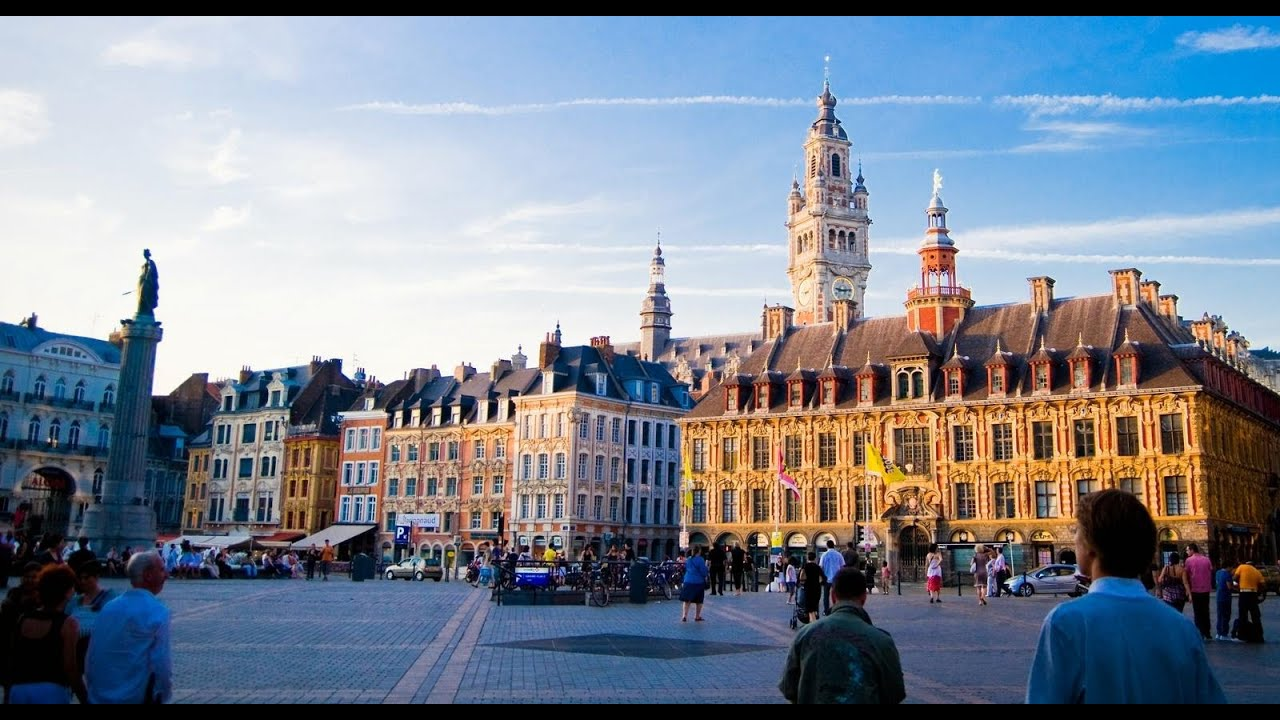 grand place lille sightseeing youtube. Black Bedroom Furniture Sets. Home Design Ideas