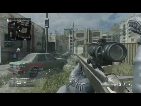CALL OF DUTY - MWR VACANT SNIPING AND QUICKSCOPING