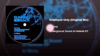 Employee Only (Original Mix)