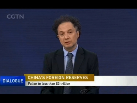 CGNT Michele Geraci-The decline of China's foreign reserves