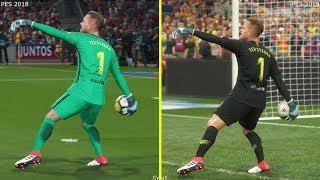 PES 2019 vs 2018 Graphics Comparison